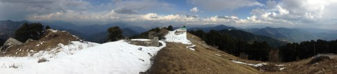 Panoramic view from Hatu Peak; photo: sanjay mukherjee