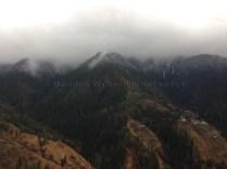 The Hatu Peak and its surroundings were shrouded in dense fog when we arrived at The Tethys in Narkanda. Photo: sanjay mukherjee