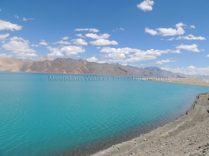 Looking towards the Tibetan side of Pangong Tso; Photo: Abhishek Kaushal