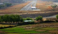 The Paro airstrip. Photo: Kaushik Naik