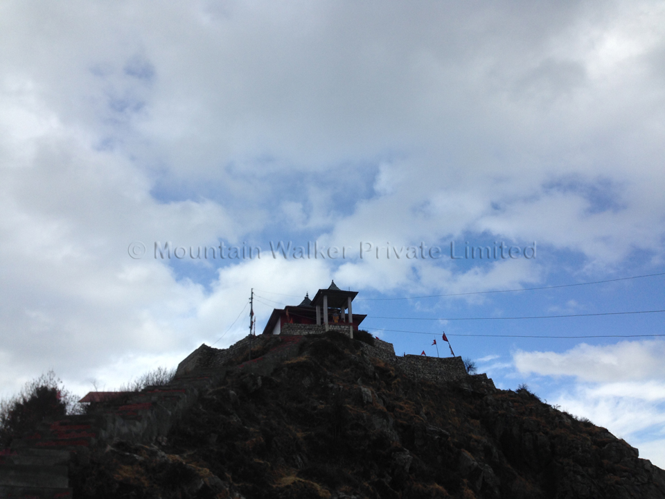 The Shaali temple (and the weather changes again)