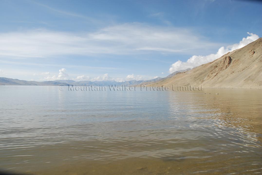 Looking southward of Tso Moriri; Photo: Abhishek Kaushal