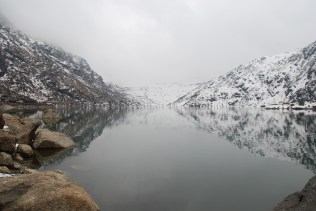 Full view of Tsomgo Lake; Photo: Abhishek Kaushal