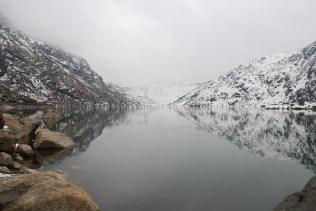 Full view of Tsomgo Lake; Photo: Abhishek Kaushal