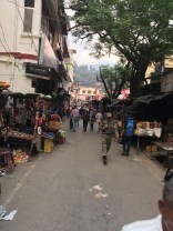 A relatively relaxed stretch of the Uttarkashi market; Photo: Swarjit Samajpati