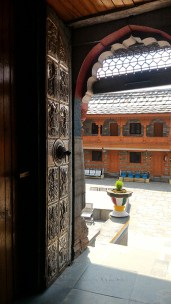 Intricate carvings adorn the temple doors; Photo: Abhinav Kaushal