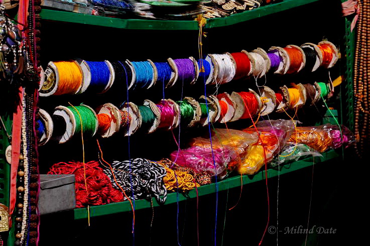 The arrangement of wares on sale are often captivating by themselves. Photo: Milind Date.