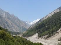Sight of Bhagirathi 2 peak; Photo: Abhishek Kaushal