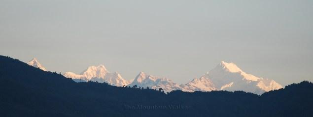Sunrise on Kanchenjunga peak as seen from Gangtok, Sikkim; Photo: Abhishek Kaushal