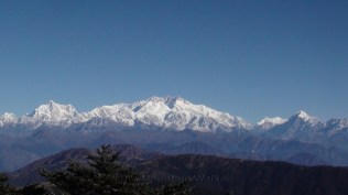 The Sleeping Buddha: Kanchenjunga, beautiful view from Sandakphu, West Bengal; Photo: Abhishek Kaushal