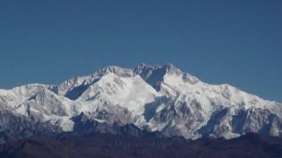 Close up of the Kanchenjunga main peak as seen from Sandakphu, West Bengal; Photo: Abhishek Kaushal