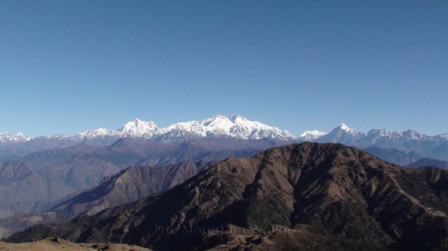 The Sleeping Buddha: Kanchenjunga as seen from Phalut, West Bengal; Photo: Abhishek Kaushal