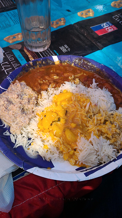 The kadhi-chawal, Rajma, and local delicacies were a delight at the festival.