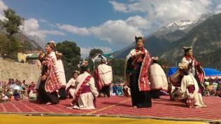 Kinnauri ladies performing a traditional dance portraying male and female roles; Photo: Abhinav Kaushal
