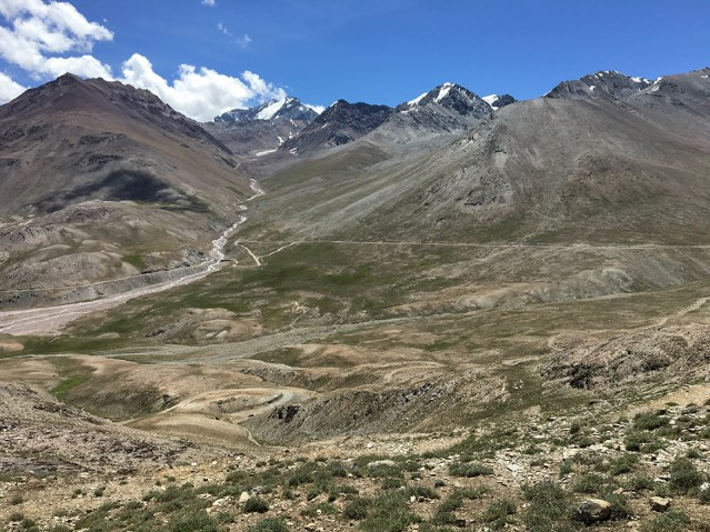Ridge above Kunzum Pass 04
