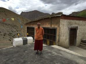 Lama Tenzin at Lalung Monastery; Photo: Sanjay Mukherjee