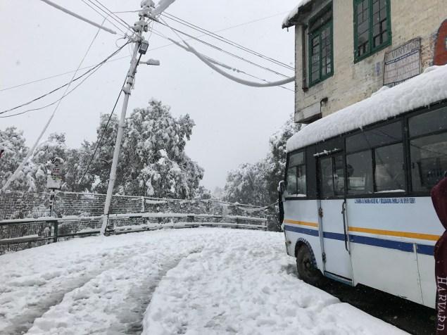 The Wheels On The Bus ... Photo: Abhinav Kaushal