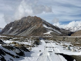 Looking out towards the scenic mountain near Kibber village; Photo: Abhinav Kaushal
