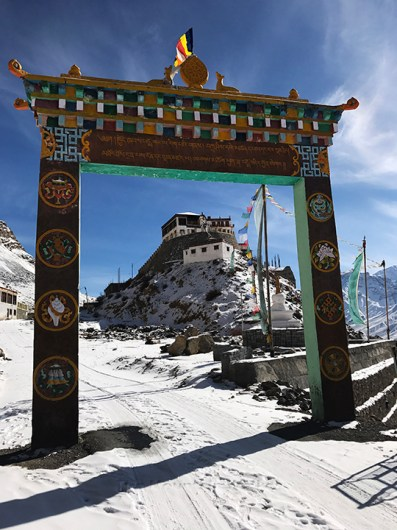 Entrance to Ki Monastery; Photo: Abhinav Kaushal