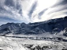 Spotting Ki village amidst the snow covered landscape; Photo: Abhinav Kaushal