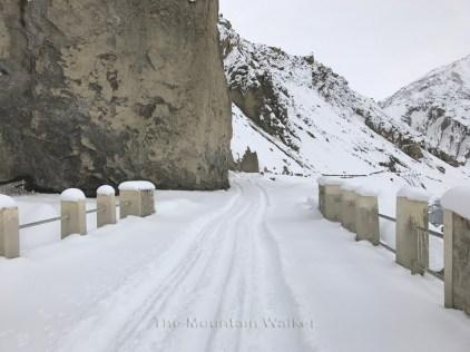 The road to Tabo; Photo: Abhinav Kaushal