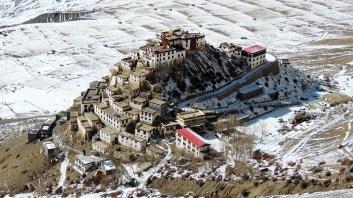 As we keep going higher up, the Ki Monastery keeps looking even better; Photo: Abhishek Kaushal