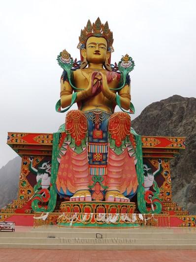 Maitreya Buddha in Diskit Monastery; Photo: Abhishek Kaushal