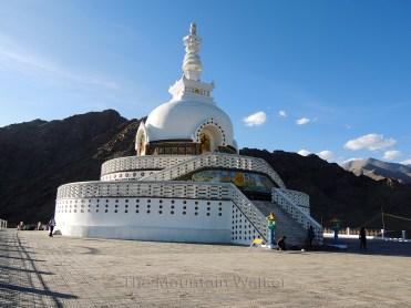 Shanti Stupa; Photo: Abhishek Kaushal