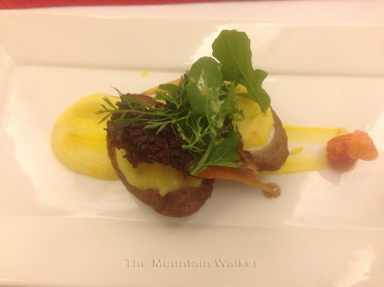 New Year Gala Dinner Menus are often a gourmet affair with many courses; Photo: sanjay mukherjee