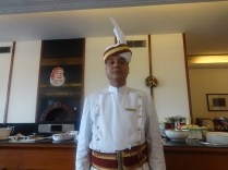 Rajinder is an old hand of the Clarkes' service staff; Photo: sanjay mukherjee