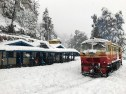 Cruising through the snow at Summerhill Railway Station, Shimla; Photo: Abhinav Kaushal