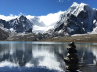 Gurudongmar Lake in North Sikkim; Photo: Swarjit Samajpati