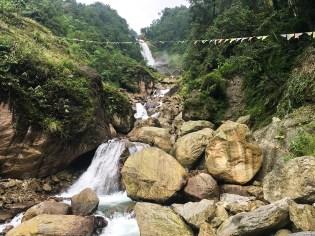 Naga Waterfalls, North Sikkim; Photo: Swarjit Samajpati
