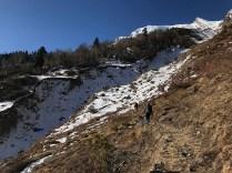 Day 3 - Steep climb towards Khadathathra; Photo: Swarjit Samajpati