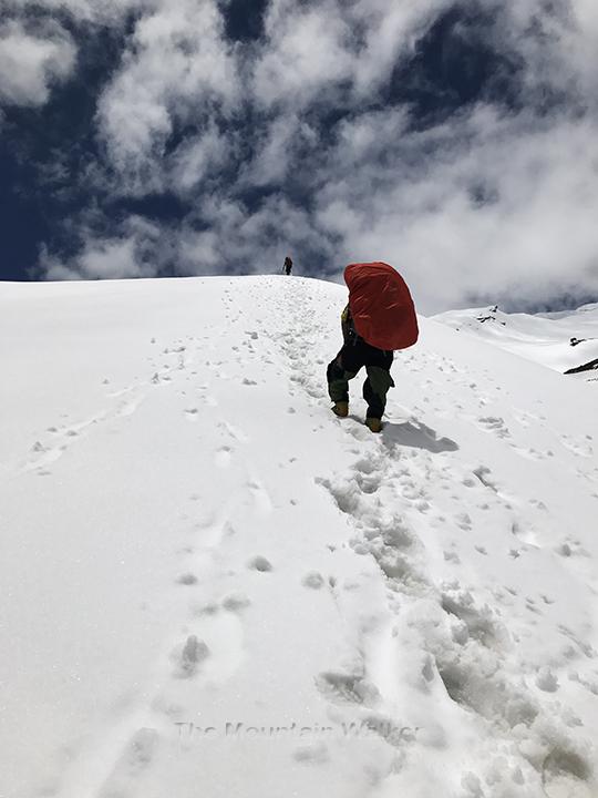 WM Gangotri-III Summit Camp 04