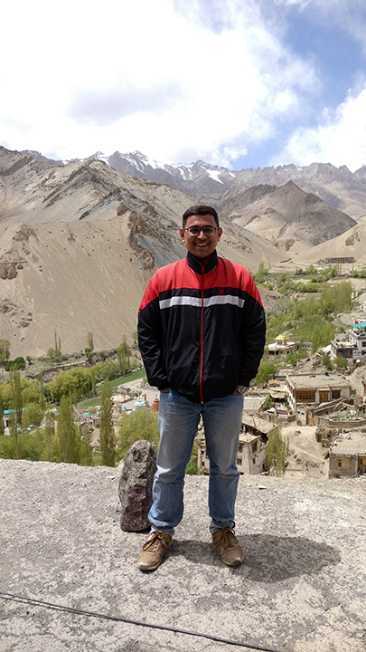 Abhishek Mujumdar Joins The Mountain Walker Internship Program