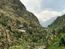 Gangaad village (2340 m) located above the Supin River; Photo: Swarjit Samajpati