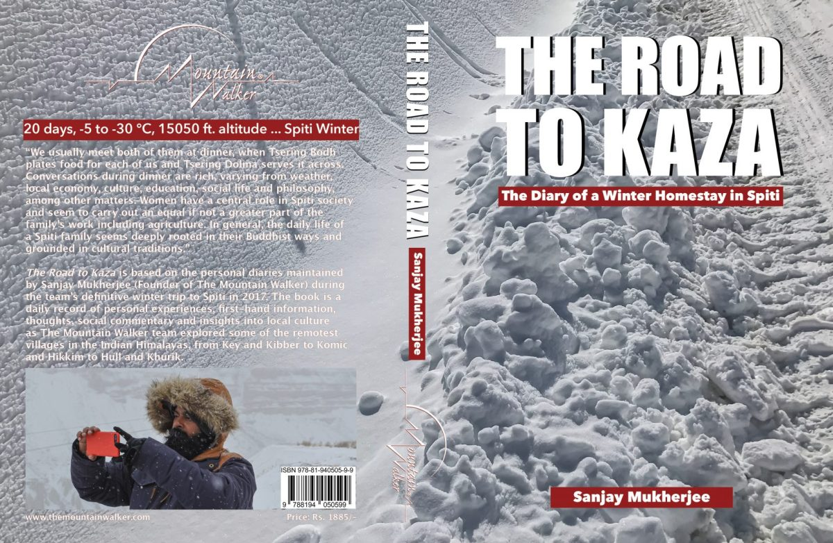 The Road To Kaza: Hardcover Cover Spread
