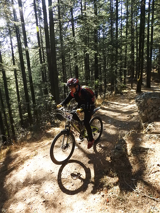 A great event to hone one's skills in mountain biking