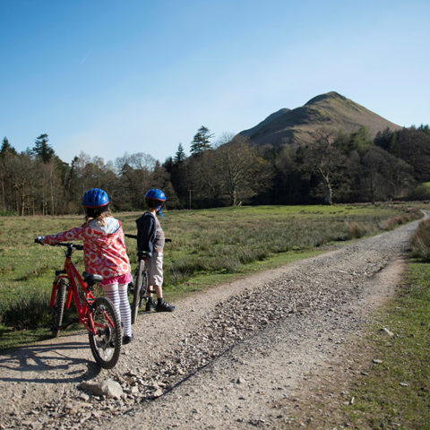 Cycling to Catbells