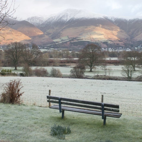 Nearby Winter view of Skiddaw