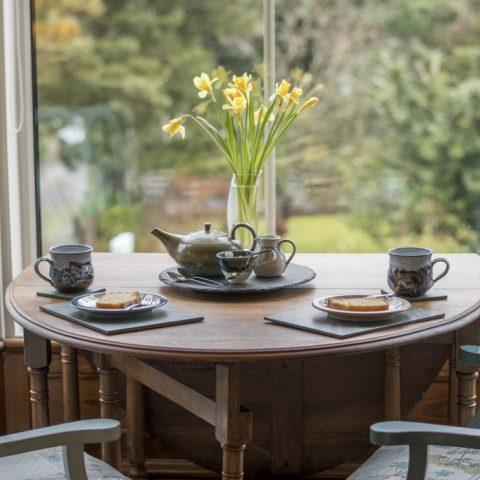 Tea on arrival