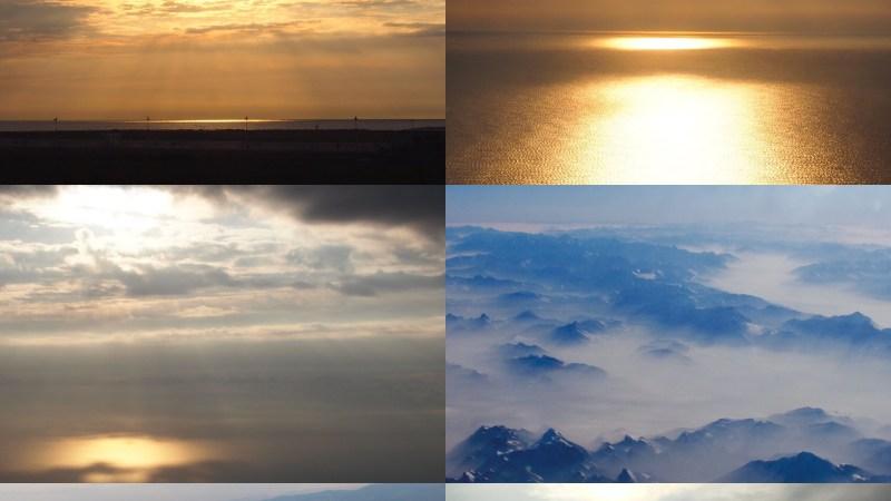 Plaisir des yeux: le ciel et les nuages en spectacle