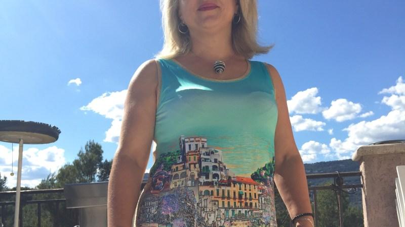 Idee look: en BLEU D'AZUR avec comme un air d'Italie