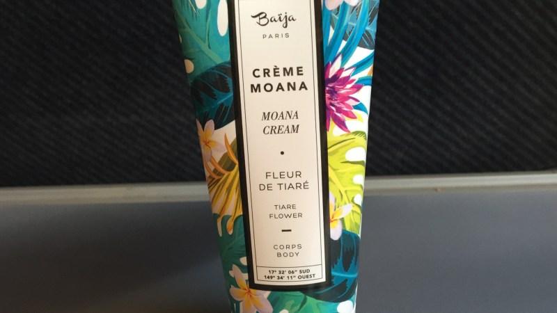 Crème Moana Baija fleur de tiaré… Vous embaumez l'odeur des vacances!