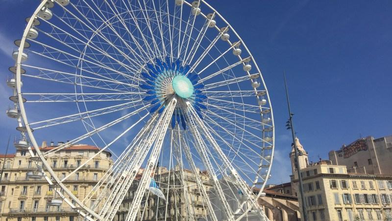 Marseille encore et toujours!… Ma pause déjeuner…