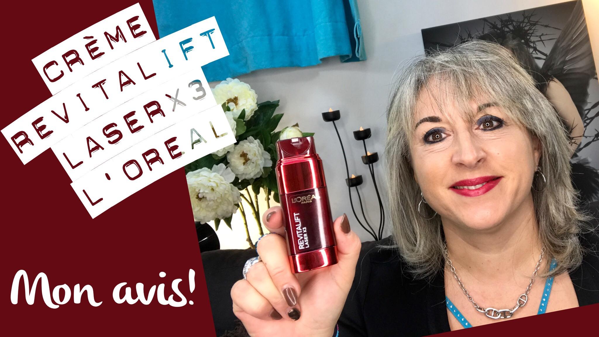TheMouse sur YouTube: Mon test de la crème de jour L'OREAL Revitalift Laser x3 Double Soin (via Subleem)