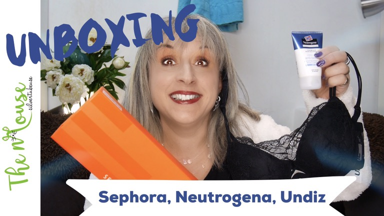 UNBOXING: Neutrogena, Undiz et Sephora