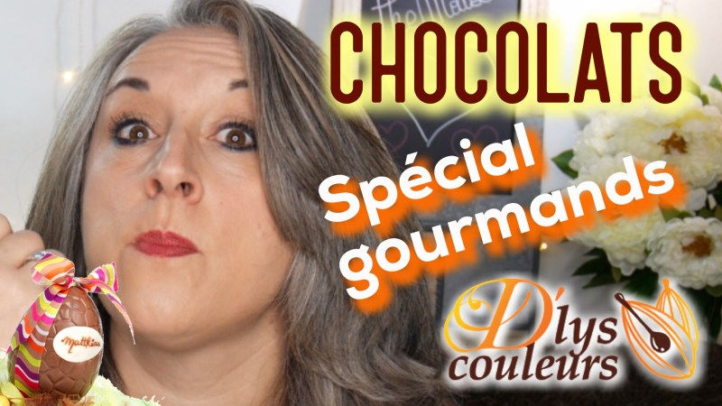 Faites livrer des chocolats de Pâques avec D'lys couleurs