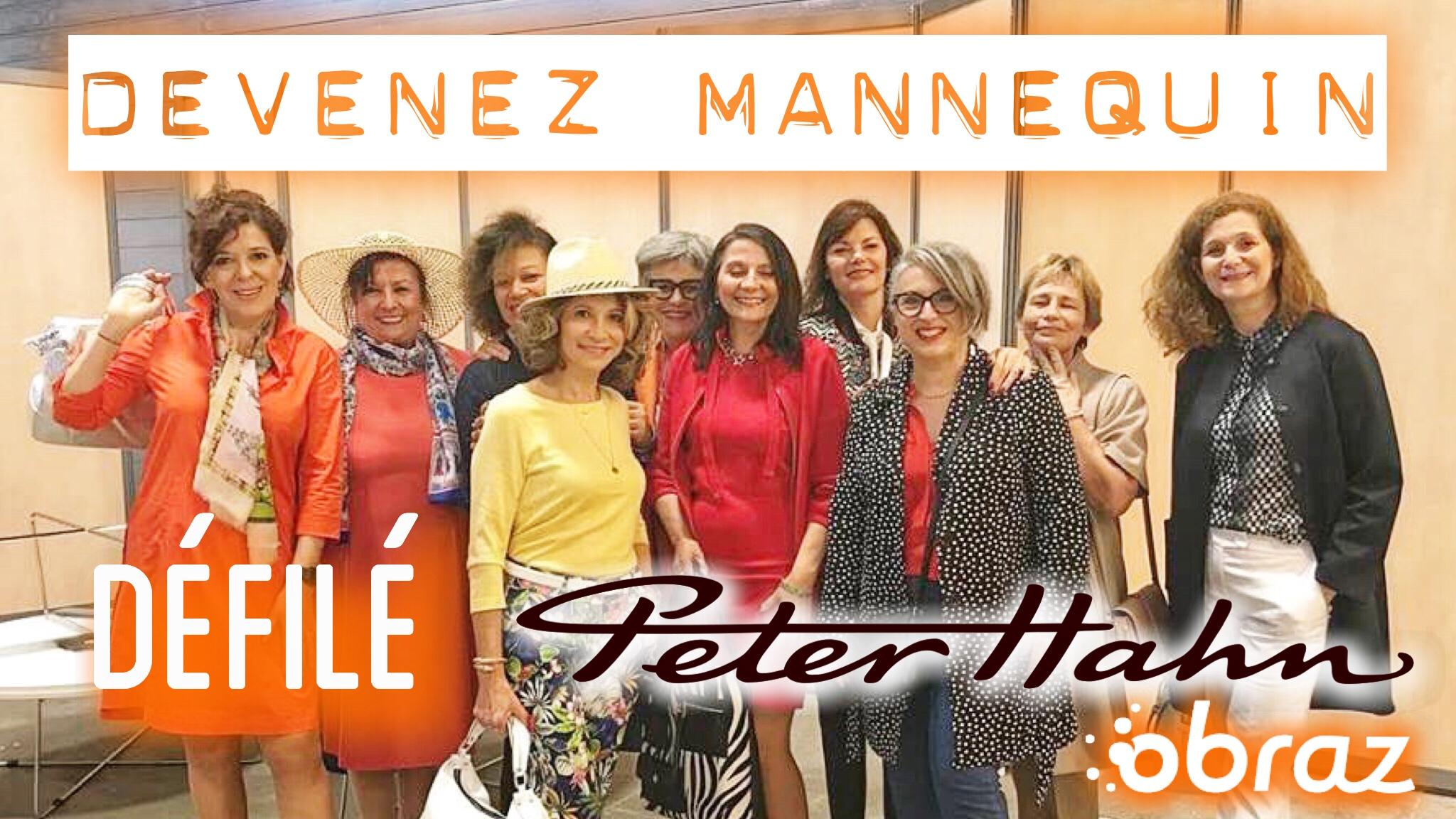 DEVENIR MANNEQUIN POUR UN JOUR: DÉFILÉ PETER HAHN AU SALON DES SENIORS